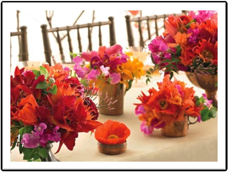 Resultado de imagen para flores para bodas en verano