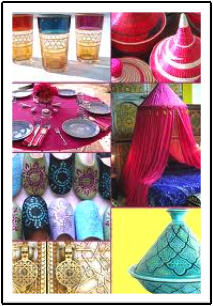 Decoraci n marroqu bodas d for Farolillos de decoracion