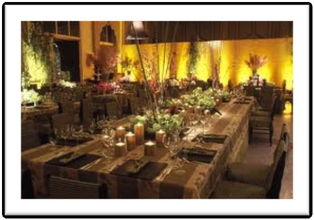 Decoraci n oriental bodas d for Ambientacion para bodas