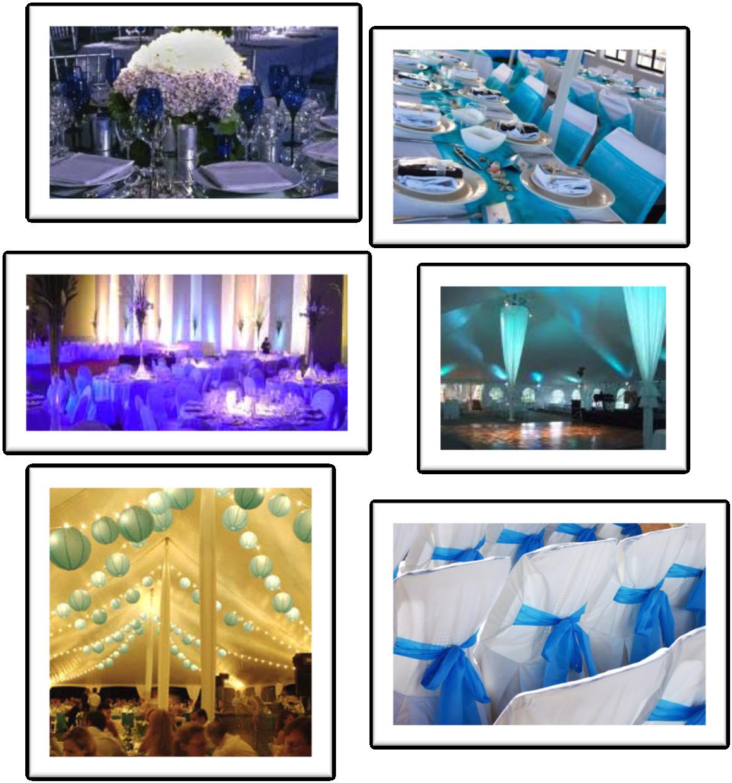 Bodas Decoracion Azul ~ decoracion bodas blanco y azul  d bodas com