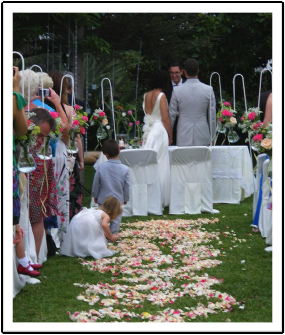 Decoraci n ceremonia civil d for Decoracion boda exterior