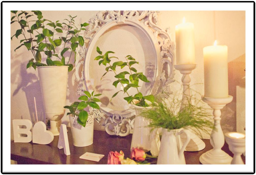 Decoracion Romantica De Aniversario De Novios ~ Deco Inspiraciones  La Palma de Boda  d bodas com