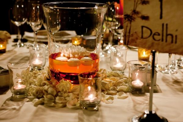 V&M, decoración mesa oriental, d-bodas.com wedding planners