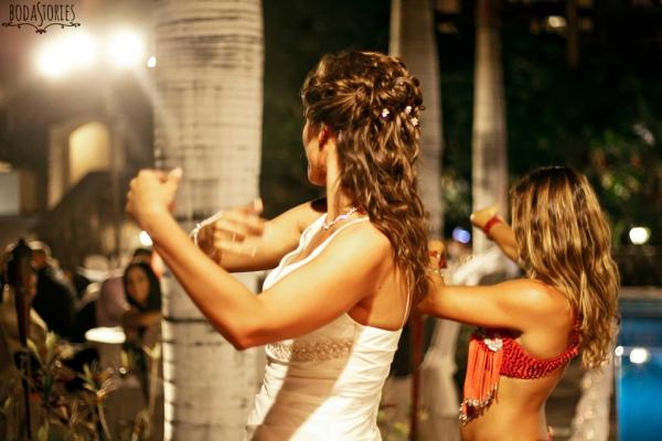 V&M, danza del vientre boda, d-bodas.com wedding planners