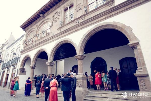 N&J  boda ayuntamiento santa cruz de la palma, d-bodas.com wedding planners
