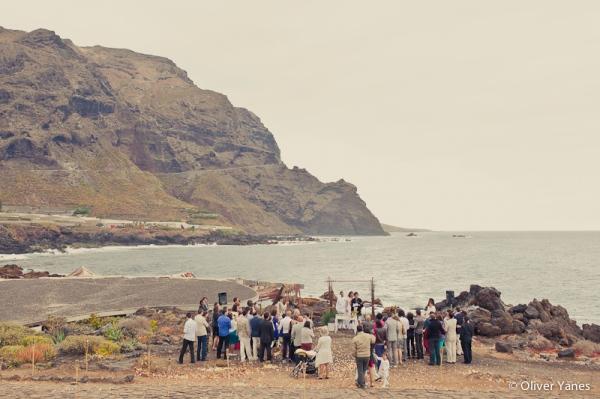 boda en tenerife playa