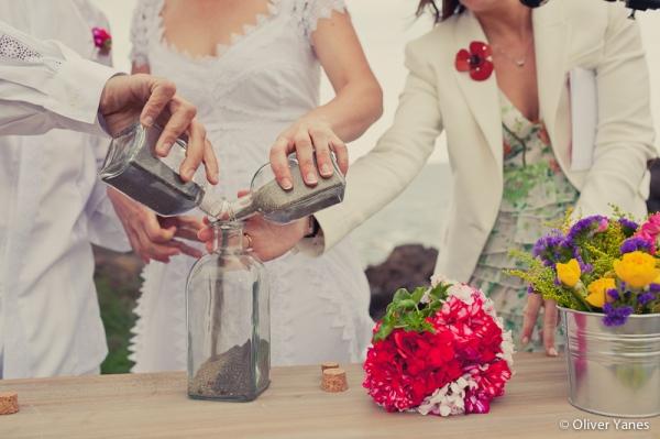 ceremonia de la arena tenerife boda playa d-bodas.com