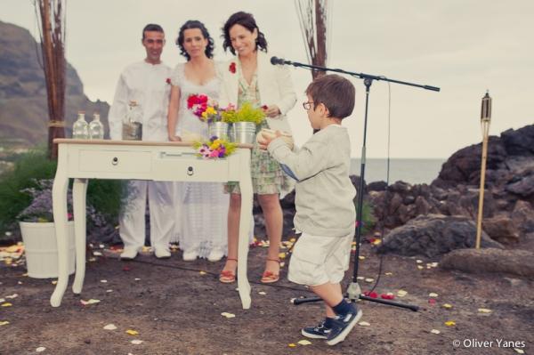 ceremonias boda playa tenerife