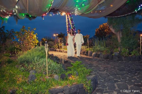 Rte El Burgado, bodas tenerife d-bodas.com