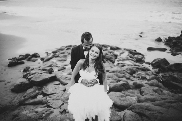 deborah torres pareja playa boda