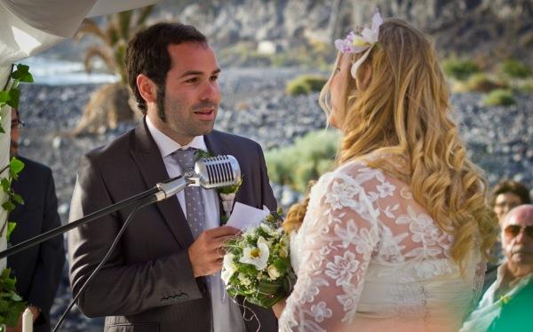 ceremonia boda playa la palma