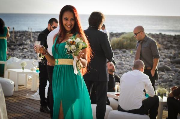 cocktail boda playa