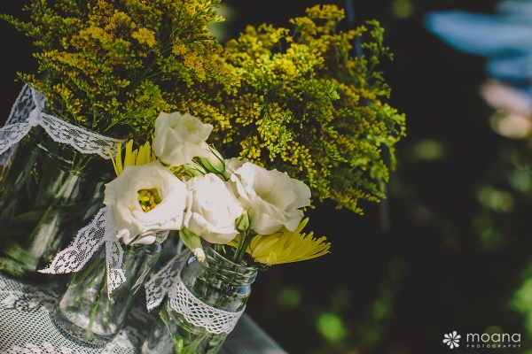 detalle flores boda tenerife