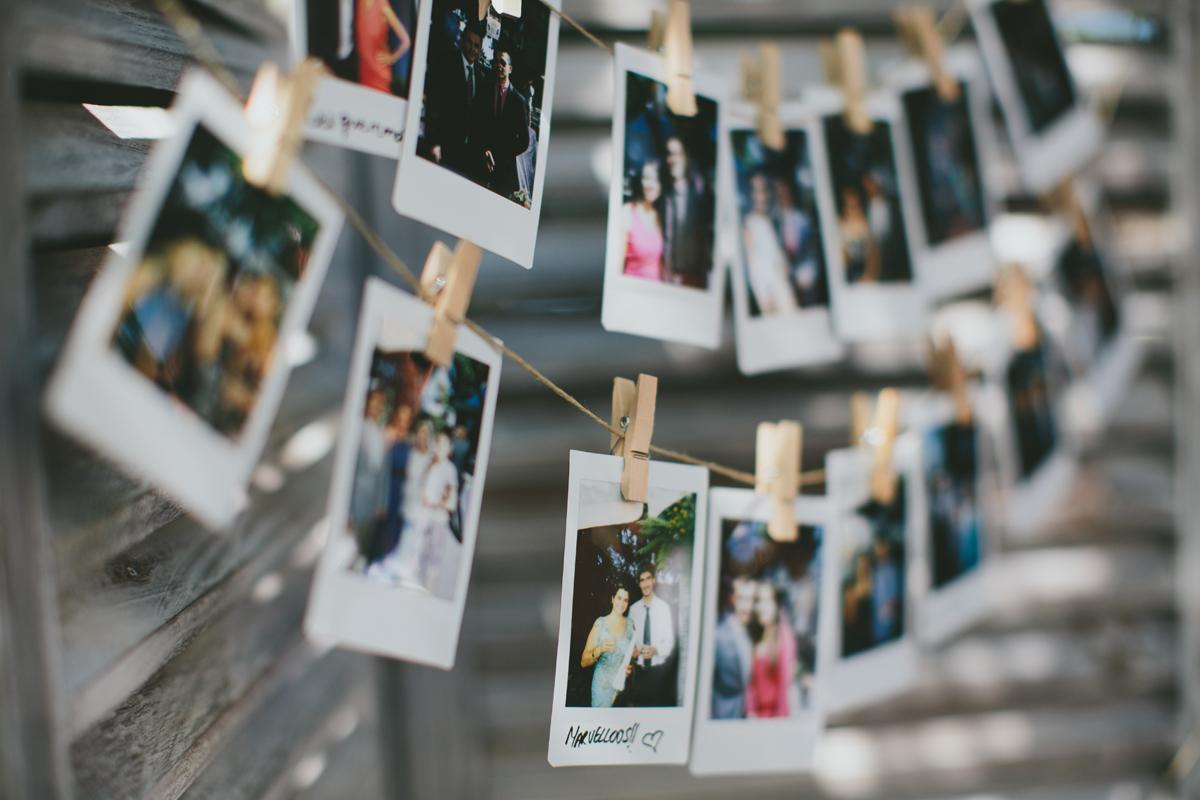 Matrimonio Tema Polaroid : Agosto d bodas