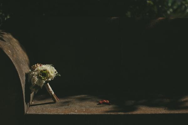 Ramo de novia suculentas tenerife bodas