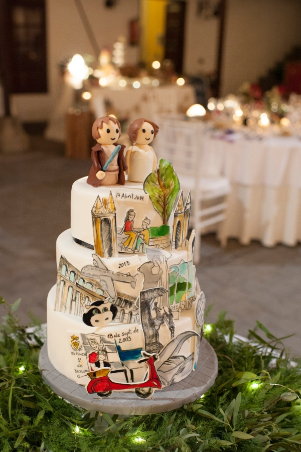31a Free Heart tartas bodas tenerife